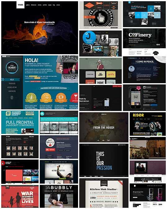 webデザイン】暗い色がベースカラーのかっこいいweb ...