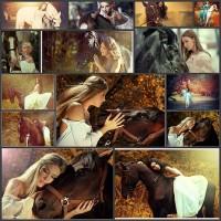 14women-and-horses-by-shibina-nadegda