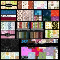 15-beautiful-free-floral-pattern-sets