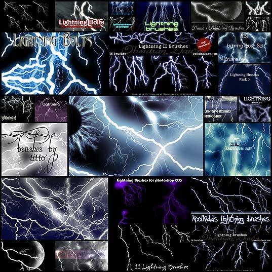 26photoshop-lightning-brushes