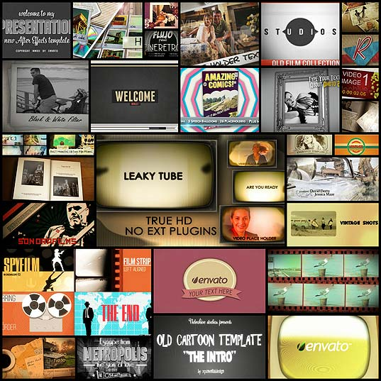 30vintage-after-effects-templates