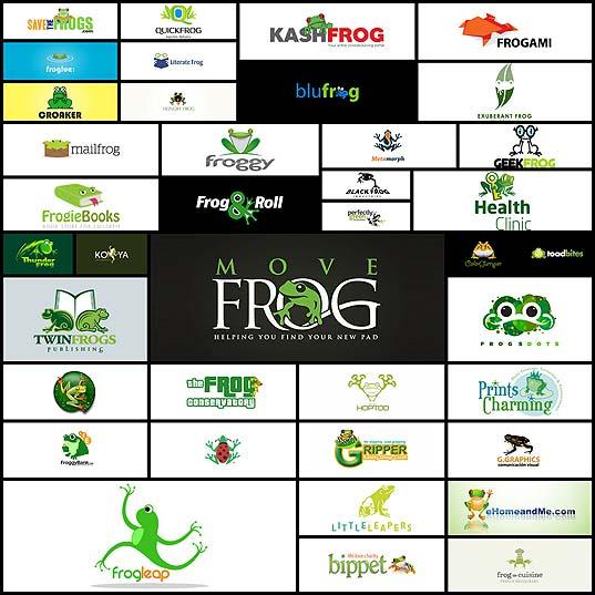 40frog-logo-designs