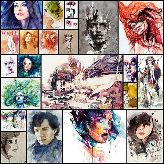 runny-paints-modern-watercolor-portraits22