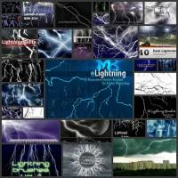 30 Sets of High-Quality, Free Lightning Photoshop Brushes