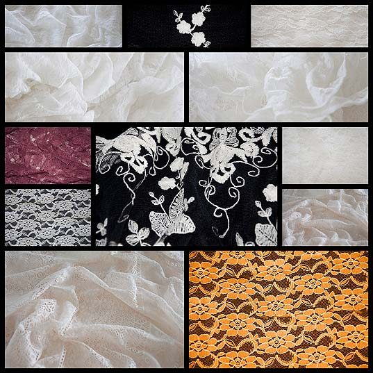 12 Unique Lace Textures