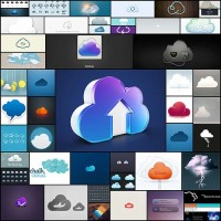 50-beautiful-cloud-icons