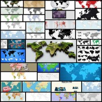 vector-world-map-collection40