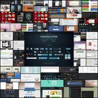 60-fresh-web-ui-kits-and-mobile-ui-kits-with-psd-files