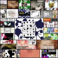 30+-Splatter,-Splash,-Drips-and-Grunge-PS-Brushes-for-Designers