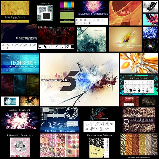 30-abstract-brushes-and-patterns