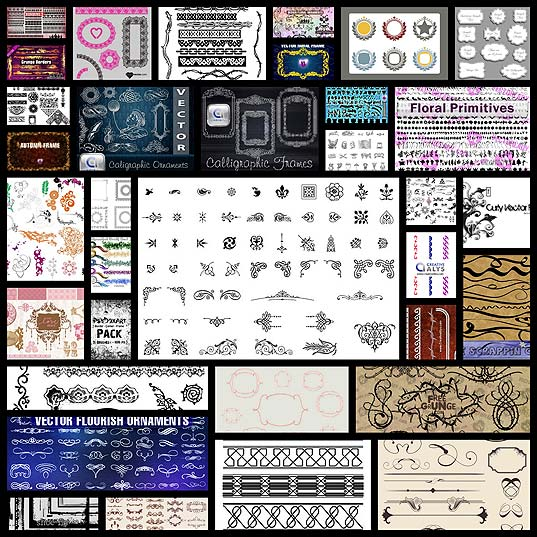 30-free-ornaments-frames-borders-vector-resources