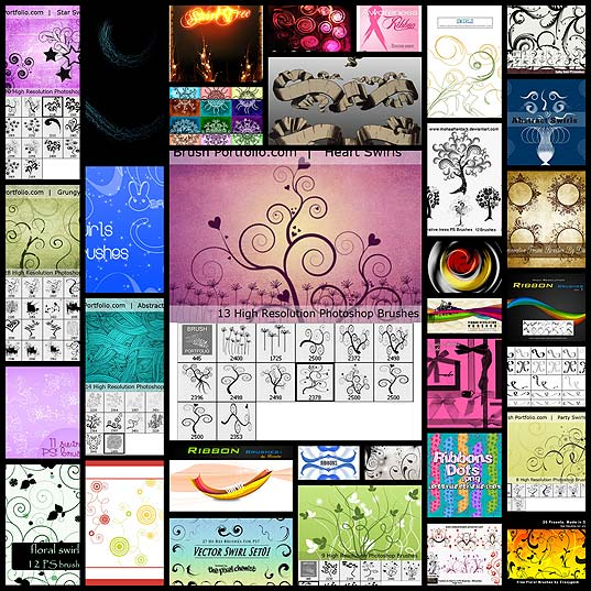 35-awesome-swirl-and-ribbon-photoshop-brushes