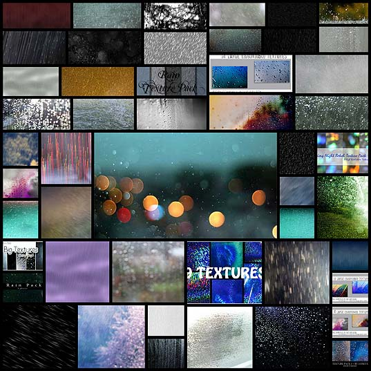 50-Free-Rain-Textures,-Backgrounds-and-Image-Packs