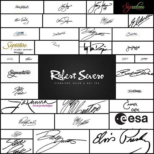 best-signature-logos35