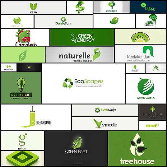 creative-showcase-of-green-theme-logo-designs30