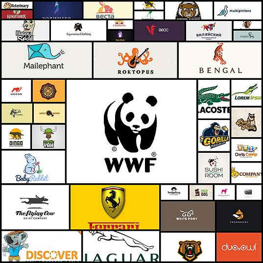 40-creative-animal-centred-logo-design