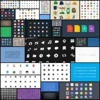 30-latest-free-flat-icon-sets-for-your-use