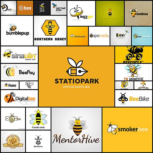 30-amazing-examples-of-honey-bee-logos