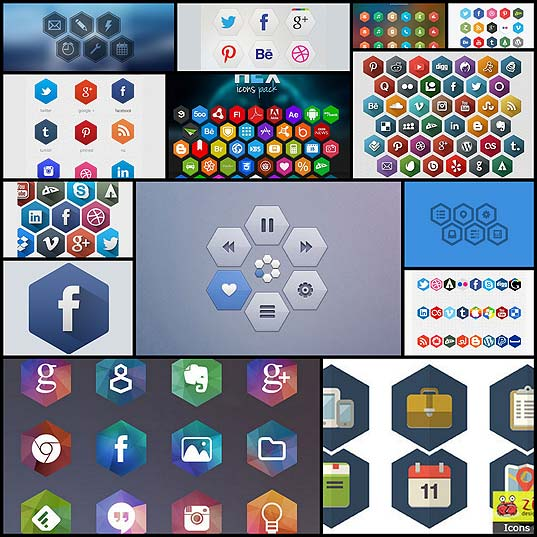 15-free-hexagon-icon-sets-for-your-project