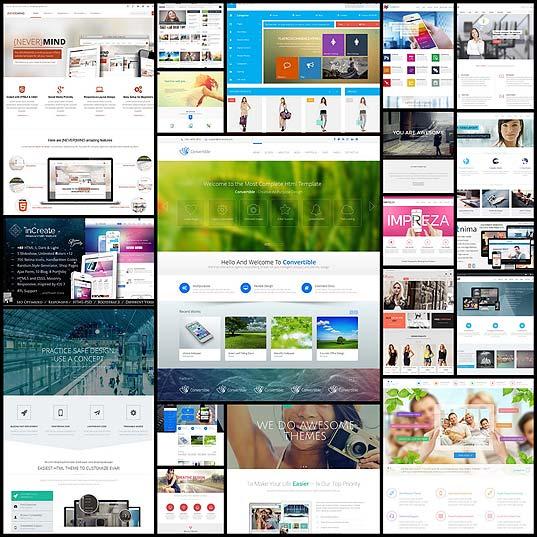 best-website-templates-2013