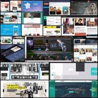 20-clean-modern-free-web-layout-psds