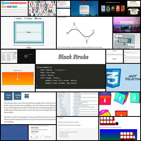 26-web-design-tutorials-for-css3-properties