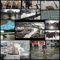 250年ぶりの大洪水…イギリスが大変なことになってた13