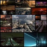 SF映画内、ワクワクが止まらない、近未来・空想科学都市ベスト10