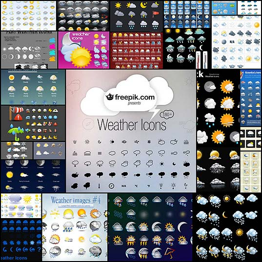 27-Sets-of-Free-High-Quality-Weather-Icons