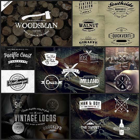 30-free-vintage-logo-templates