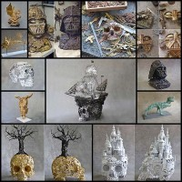 beautifully-detailed-metal-sculptures-by-alain-bellino12