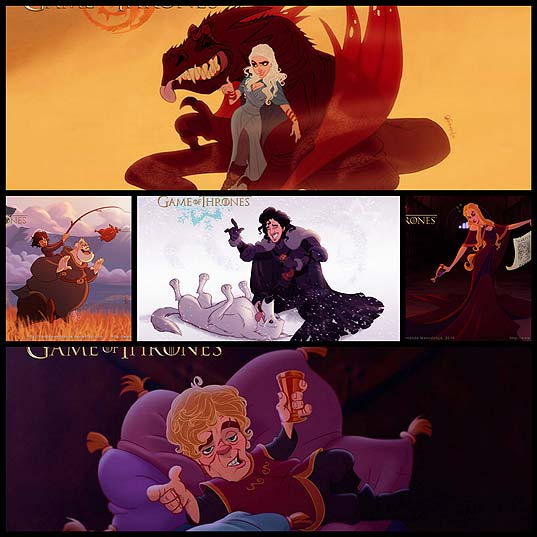 if-game-of-thrones-were-drawn-by-disney5