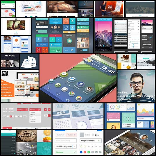 24-fresh-and-free-html-psd-and-gui-templates-july-2014-edition24