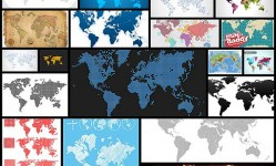 25-free-vector-world-maps