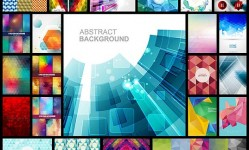 100Abstract-Geometric-Shapes-Vector-Backgrounds