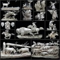 Allen &Patty Eckmanによる紙の彫刻アート(15枚)