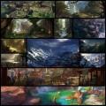 Dawnpuによるファンタジーな風景イラスト(12枚)
