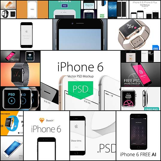 25-mockup-templates-for-the-new-iphone-6-watch