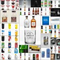 パッケージ・ボトルデザインに使えるモックアップPSD素材(32個)