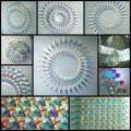 Chris Woodによる特定の波長を通すプリズムを使った幾何学的・サイケなアートワーク写真(10枚)