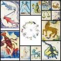 ダリによるフリーダムな12星座アート(13枚)