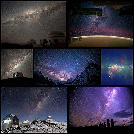 美しい天の川の写真(7枚)