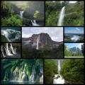 幻想的な世界の大きな滝(9枚)