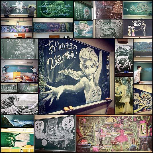 超クオリティな黒板アート(写真25枚)