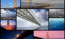 最も長い吊り橋10