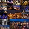 世界のクリスマス商戦と賑やかな街並みの写真(20枚)