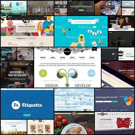 最近良く見る大き目の上部メニューを使ったWebサイトデザイン(26例)