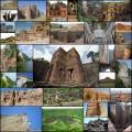 その土地を切り出して作られた巨大彫像・モニュメント(33枚)