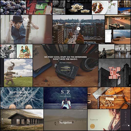 大きい背景画像を使った海外のお洒落サイト(25例)