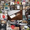 スマホや名刺、ステーショナリーなどのモックアップ写真が作れるテンプレート素材(25セット)